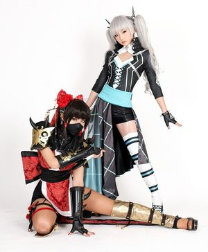 Very beautiful asian cosplay girls..