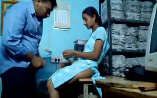 Indian teen girl fucked on office..
