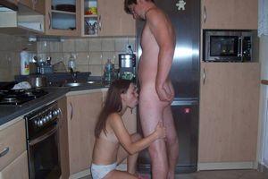 Girlfriends sucking dicks, blowjob..