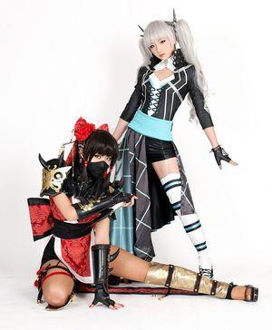 Very beautiful asian cosplay girls..
