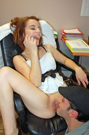 Young model gets fucked in the office,..
