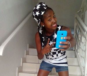 Real amateur ebony teen girl in nice..