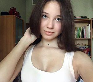 Beautiful blue-gray eyes, sweet lips I..