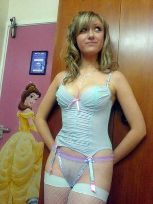 Incredibly cute girl with pair of big..