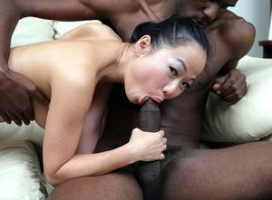 Hot interracial fucking pictures with..